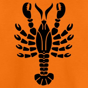 Orange Hummer / lobster (1c) Kids' Shirts - Teenage Premium T-Shirt
