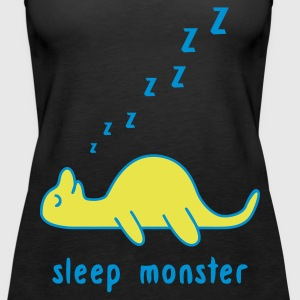 Black Sleep Monster Tops - Women's Premium Tank Top