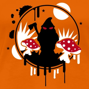 Orange gartenzwerg? T-Shirts - Frauen Premium T-Shirt