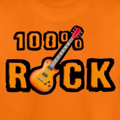 100_rock_guitars_red Shirts