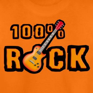 100_rock_guitars_red Shirts - Teenage Premium T-Shirt