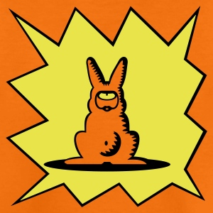 Orange cyclops-kanin / Cyclops rabbit (b, 2c) Børne T-shirts - Teenager premium T-shirt