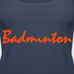 Sky blue Badminton Tops - Frauen Premium Tank Top