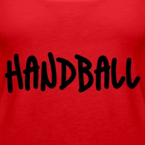 Rot Handball Tops - Frauen Premium Tank Top