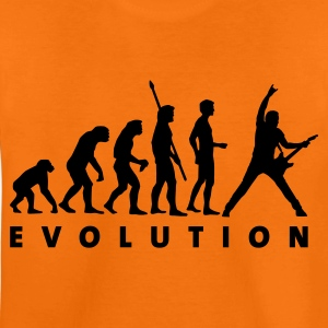 Orange evolution_guitar_c_1c Kids' Shirts - Teenage Premium T-Shirt