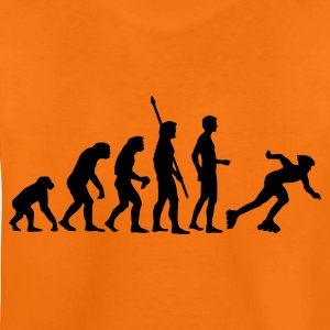 Orange evolution_inliner_1c Kids' Shirts - Teenage Premium T-Shirt