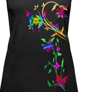 Black butterfly Tops - Women's Premium Tank Top