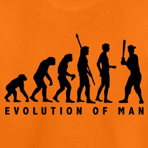 Orange evolution_baseball_b_1c Kinder T-Shirts - Teenager Premium T-Shirt