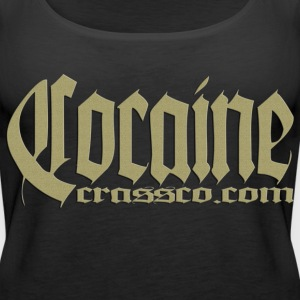 Schwarz cocaine gold Tops - Frauen Premium Tank Top