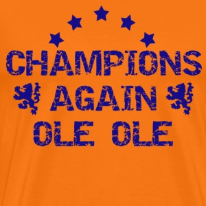 Golden orange Champions Again Men's T-Shirts - Men's Premium T-Shirt