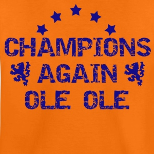 Orange Champions Again Kids' Shirts - Teenage Premium T-Shirt