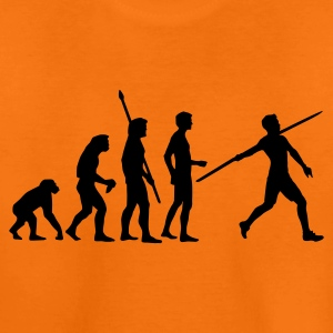 Orange evolution_speerwerfer_us Kids' Shirts - Teenage Premium T-Shirt