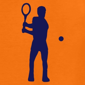 Orange tennis_c_1c Kinder T-Shirts - Teenager Premium T-Shirt