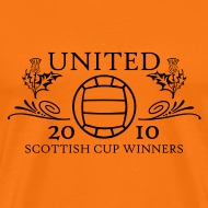 Design ~ Dundee United - Old Time Winners