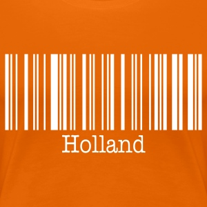 Holland Girl FanShirt - Vrouwen Premium T-shirt