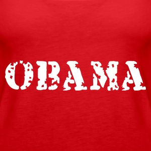 Rot Obama Tops - Frauen Premium Tank Top