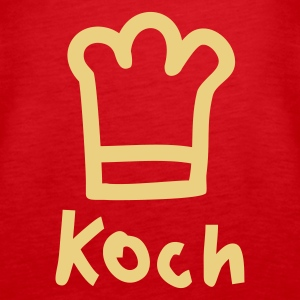 Rot KOCH Tops - Frauen Premium Tank Top