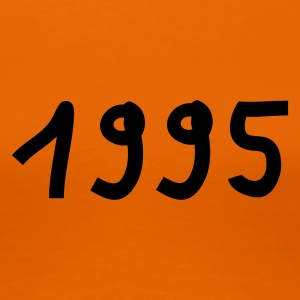 Orange 1995 T-Shirts - Frauen Premium T-Shirt