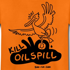 Orange Kill Oil Spill Kids' Shirts - Teenage Premium T-Shirt
