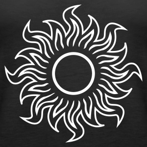 Black black hole sun (dark) Tops - Women's Premium Tank Top