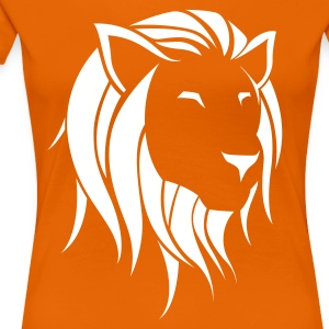 Dutch Lion Plain T-shirts - Vrouwen Premium T-shirt