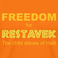 Motiv ~ T-Shirt Mann Restavek Freedom 01 © by kally ART®