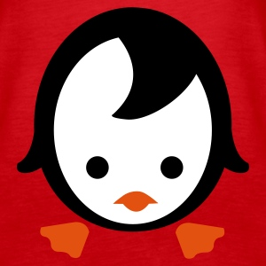 Rot Pinguin Emo Tops - Frauen Premium Tank Top