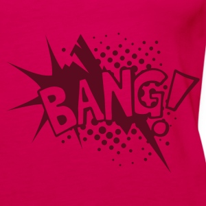 Pink Bang! C ic Schrift Tops - Frauen Premium Tank Top