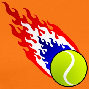 Fireball Tennis Holland - Premium-T-shirt herr