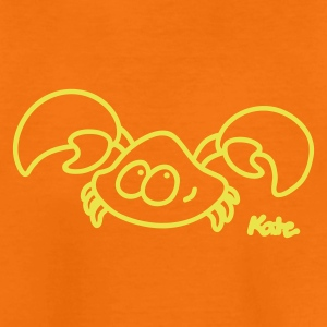 Orange Krabbe Børne T-shirts - Teenager premium T-shirt