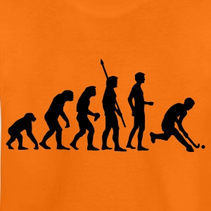 Orange evolution_herren_hockey_1c Kinder T-Shirts - Teenager Premium T-Shirt
