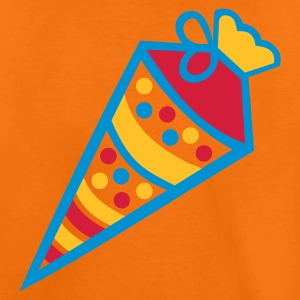 Orange Zuckertüte Kinder T-Shirts - Teenager Premium T-Shirt