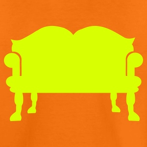 Orange Sofa - Couch Kinder T-Shirts - Teenager Premium T-Shirt