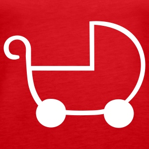 Rot Kinderwagen Tops - Frauen Premium Tank Top