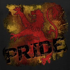 Lion Rampant Pride - Black - Men's Premium Tank Top