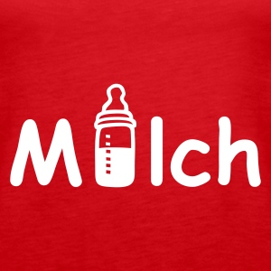 Rot Milch Tops - Frauen Premium Tank Top