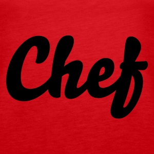 Rot Chef Tops - Frauen Premium Tank Top