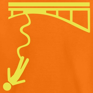 Orange Bungee jumping Kinder T-Shirts - Teenager Premium T-Shirt