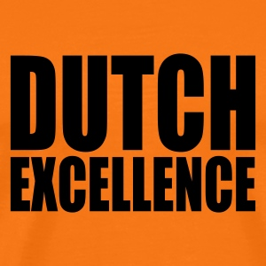 Golden orange Dutch Excellence Men's T-Shirts - Men's Premium T-Shirt