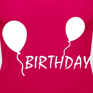Pink Birthday Tops - Frauen Premium Tank Top