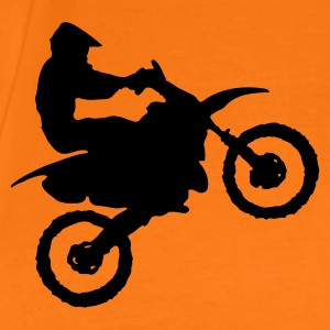 Golden orange Motocross - MX Men's T-Shirts - Men's Premium T-Shirt