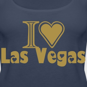 I LOVE LAS VEGAS T-SHIRT - Women's Premium Tank Top