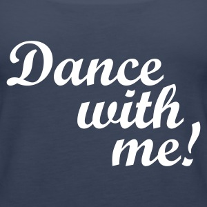 Petrol Dance with me! Tops - Vrouwen Premium tank top
