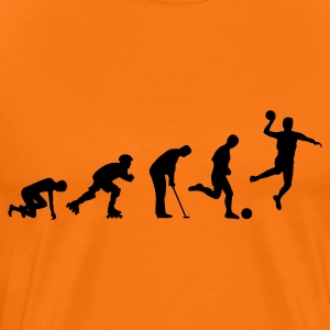 HANDBALL Evolution 1c T-Shirts - Men's Premium T-Shirt