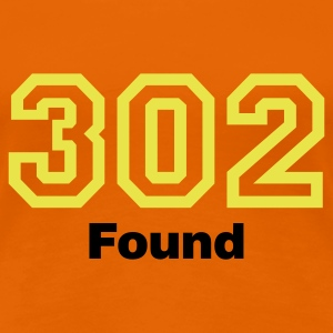 Orange Error 302 © T-Shirts - Frauen Premium T-Shirt