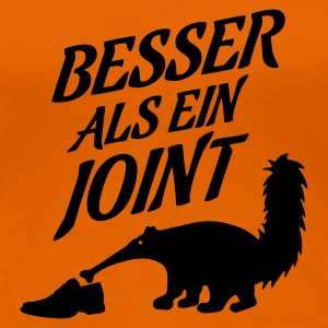 Orange besser_als_ein_joint T-Shirts - Frauen Premium T-Shirt