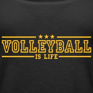 volleyball is life deluxe Top - Canotta premium da donna