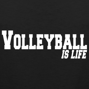 volleyball is life Camisetas - Tank top premium hombre