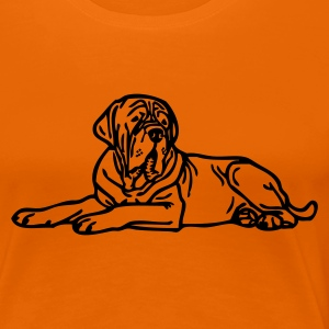 www.dog-power.nl - Frauen Premium T-Shirt