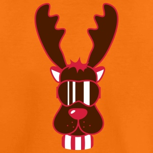 Reindeer Ski Goggles Kids' Shirts - Teenage Premium T-Shirt